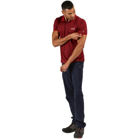 Regatta Remex II Camiseta Hombre, rojo